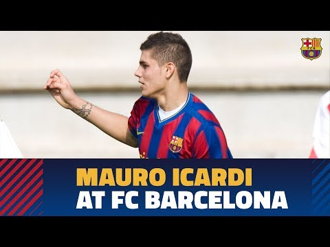Discover Icardi's Goals From His Time In The Barça Youth Set Up
