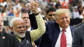 Trump hosts Indian prime minister at