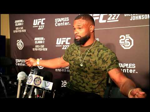 TYRON WOODLEY TRASHES COLBY BUT RESPECTS TILL'S TITLE CHALLENGE