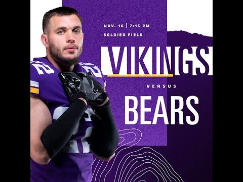 Vikings vs Bears Week 10 2020 FULL GAME