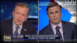 WHAT LOU DOBBS JUST UNLEASHED ON MUELLER IS GOING TO DRIVE WASHINGTON CRAZY