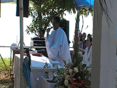 Santa Cruz da Conceição Pe. Antonio de Padua Dias Missa Campal