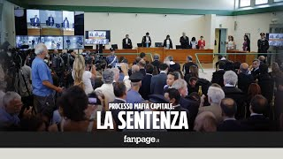 Dopo tre ore di camera di consiglio arriva la decisione dei giudici della X sezione del Tribunale di Roma. Dopo 230 udienze, Massimo Carminati è stato condannato in primo grado a 20 anni di reclusione, 19 anni di reclusione a Salvatore Buzzi.http://youmedia.fanpage.it/video/aa/WXDGjeSwUjRu-nqe