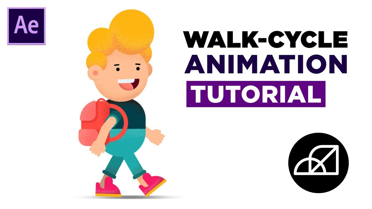 2d walk cycle tutorial using after effects