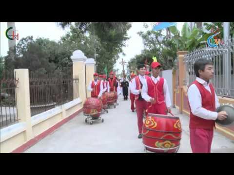 Trực Tuyến Thánh lễ cắt băng khánh thành nhà chung Giáo xứ Hoàng Xá Giáo Phận Thái Bình