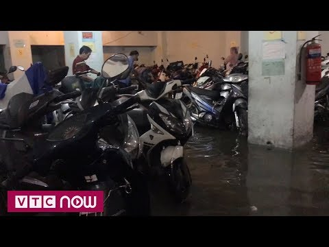TPHCM: Người dân khổ sở vì ngập hầm gửi xe - Thời lượng: 2 phút, 18 giây.