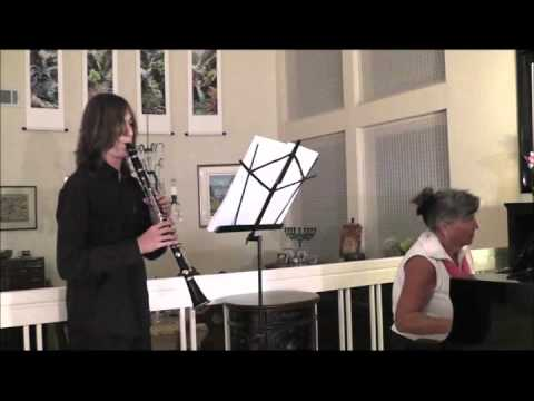 Mozart Clarinet Concerto, performed by Adam Hammer
