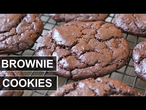 CHOCOLATE BROWNIE COOKIES || VEGAN || GF AND OIL FREE