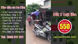 Bán đất Xã An Hòa Biên Hòa Đồng Nai