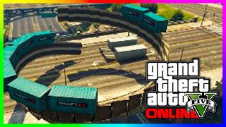 GTA 5 Funny Moments - EPIC TWISTER OF DEATH!! (GTA 5 Online Funny Races)