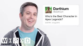 Respawn Answers Apex Legends Questions From Twitter | Tech Support | WIRED