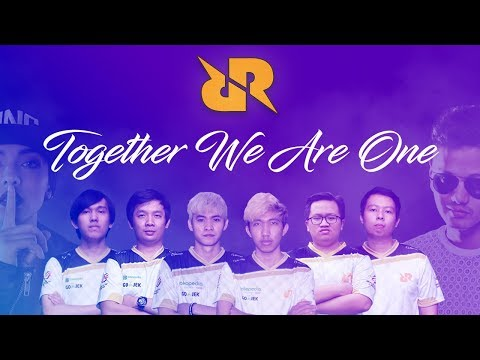 TOGETHER WE ARE ONE - RRQ OFFICIAL ANTHEM (LYRIC VIDEO)