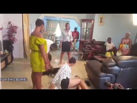 making of the GIRLS - LATEST NIGERIAN 2017 NOLLYWOO MOVIES