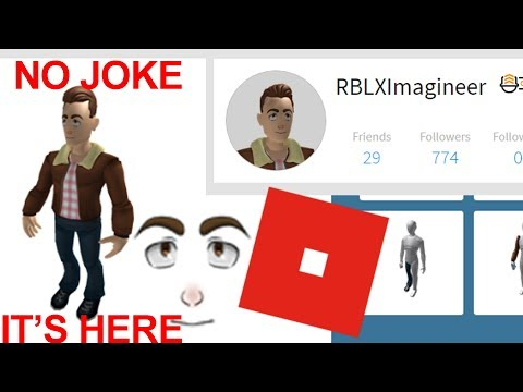 The First Ever Anthro ROBLOX profile is here...