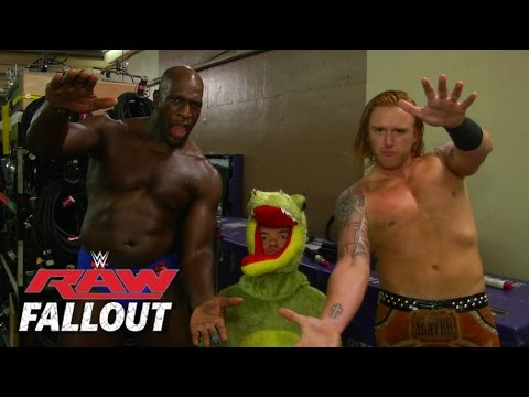 Raw - Heath Slater & Titus O'Neil introduce a new member to their team. See FULL episodes of Raw on WWE NETWORK: http://bit.ly/1wJ13X0 Don't forget to SUBSCRIBE: http://bit.ly/1i64OdT.