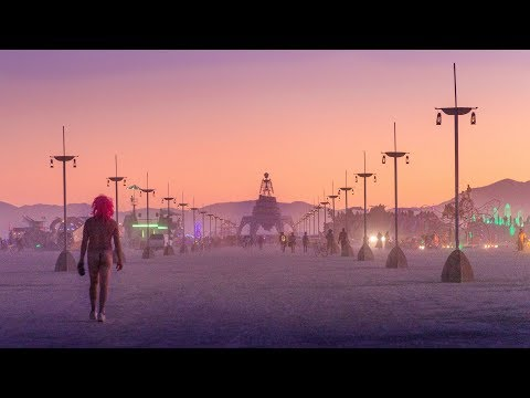 Burning Man Art Tour 2019 4K
