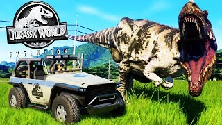 Welcome to Jurassic World! - Making Our Own Dinosaur Park! - Jurassic World Evolution Gameplay