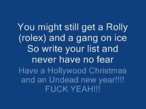 Christmas In Hollywood With Lyrics