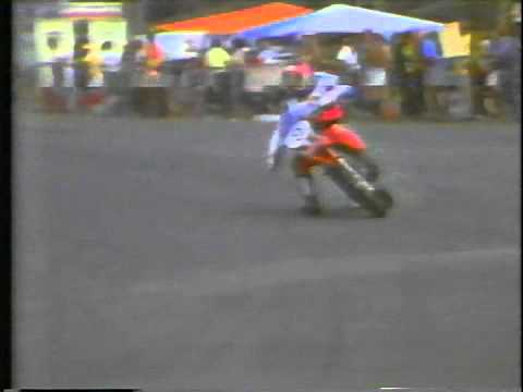 Steve Wise Supermoto Battle with Kent Howerton ABC TV 1980 Wide World of Sports