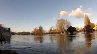 Caversham United Kingdom  City pictures : Reading Berkshire Floods England 2014