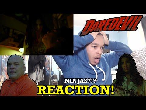 """Daredevil Season 2 Episode 8 """"Guilty as Sin"""" REACTION!"""