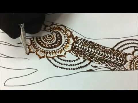0 [Henna Video] Simple Mehndi Design