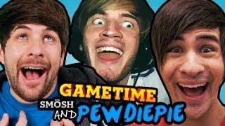 PEWDS & SMOSH'S MADAGASCAR (Gametime w/ Smosh)