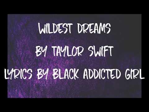 Wildest Dreams - Taylor Swift (Lyrics)