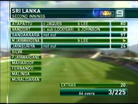 Kushal Perera batting on ODI debut, SL vs AUS, 2nd ODI, 2013