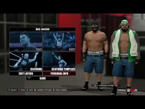 "WWE 2K15 - ""Jorts"" Big Show (Superstar Studio Fun) - PS4"