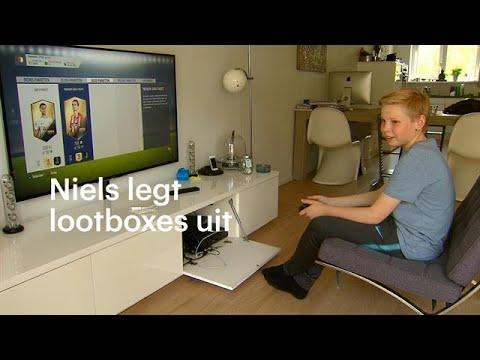 12-jarige Niels legt lootboxes uit: 'Het is wel verslavend, ja' - RTL NIEUWS