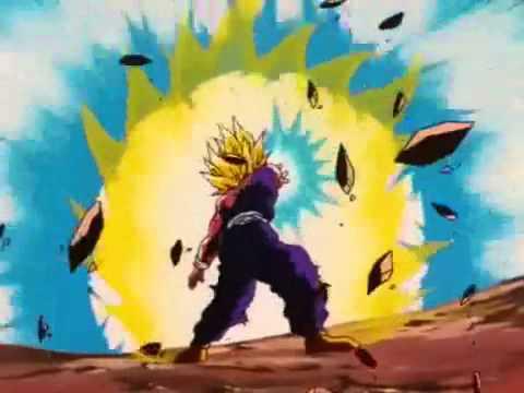 gohan destruye a cell !!! (audio latino)