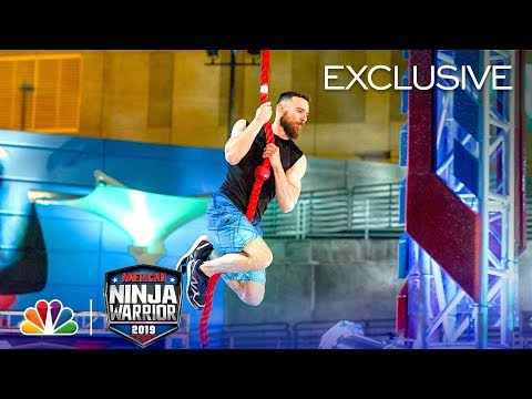Ryan Stratis Attempts The $10,000 Mega Wall - American Ninja Warrior Atlanta City Qualifiers 2019