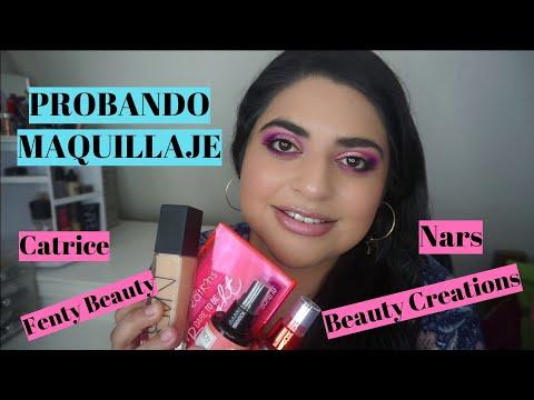 Maquillaje con productos nuevos (y no tan nuevos)