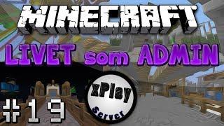 Minecraft - Let's Play Minecraft Online! Del 82 - Livet Som ADMIN - XPlay (Svenska)