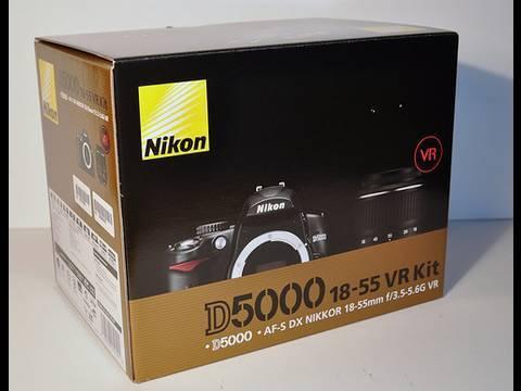 Nikon D5000 Unboxing Digital SLR Camera (18-55 VR Kit)