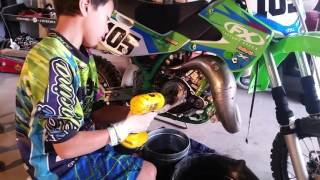 8. 2004 Kx65 clutch replacement part 1 of 3