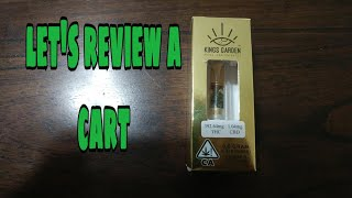 King garden Royal concentrate cartridge | I used to be a people person!! by BigMike 420 Lifestyle