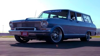 Super Chevy Muscle Car Challenge 2019 | THIRD PLACE | 1964 Nova Wagon by Total Cost Involved by Motor Trend
