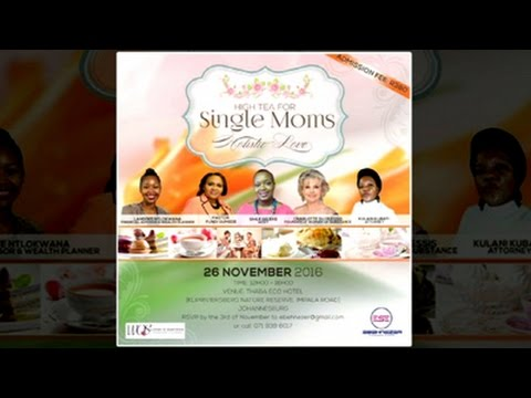 Sihle Seleke To A Host High Tea For Single Moms At The Thaba Eco Hotel
