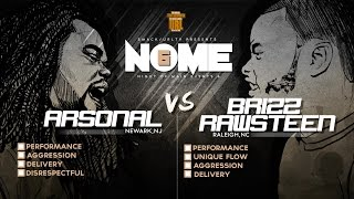 The biggest mc battle league in the world; SMACK/ URL Makes a triumphant return with NOME 6. This exciting match up features MC battle veteran ARSONAL ...