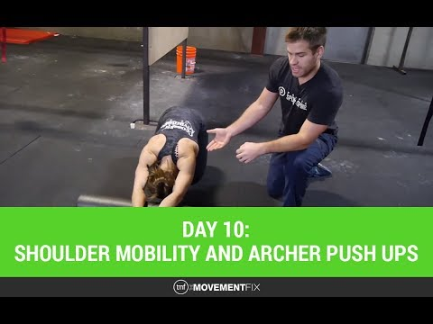 CrossFit Shoulder Mobility and Archer Push Ups