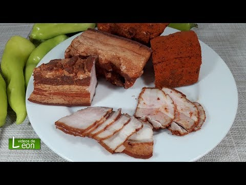 Videos caseros - Panceta salada semi ahumada