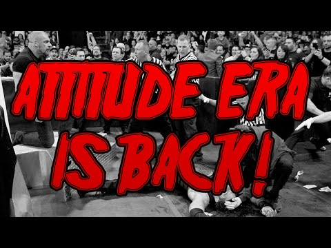 WWE IS GETTING EDGIER! - THE ATTITUDE ERA IS BACK! (видео)