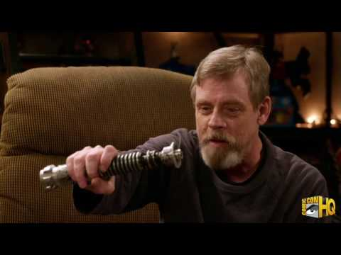 Mark Hamill Is Reunited With His Prop Lightsaber From Star Wars Return of the