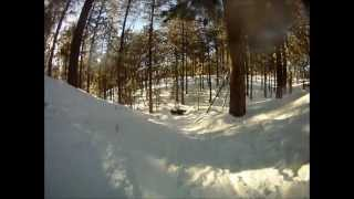 sledding arizona payson gopro