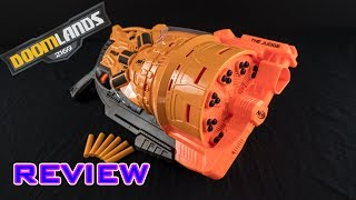 Buy on Amazon: http://amzn.to/2utHEPPVideo review of the Nerf Doomlands The Judge. This is a spring powered, 3-shot shotgun with a total capacity of 30 rounds.- - - - - - - - - - - - - - - - - - - - - - - - - - - - - -