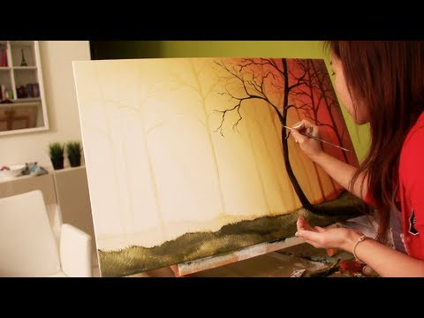Sunset Painting Tutorial