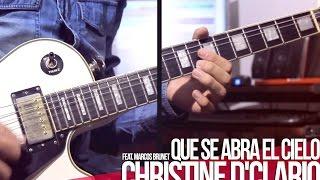 TUTORIAL  Que se abra el Cielo  Christine DClario Feat. Marcos Brunet  Intro  Acordes  Melodia