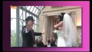 رقص بابا كرم بسيار زيبا عروس و داماد ايراني(2013)